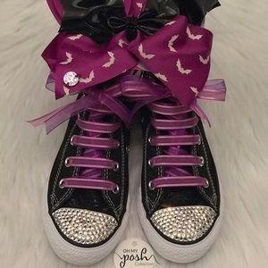 Converse Shoes - NWT JoJo Siwa Halloween glow in dark set 1b9130c36